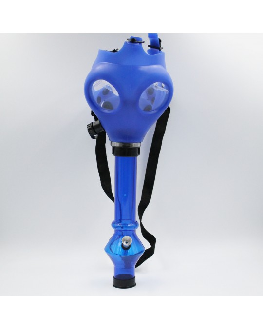 710 SOLID COLOR GAS MASK W/ ASST ATTACHMENT