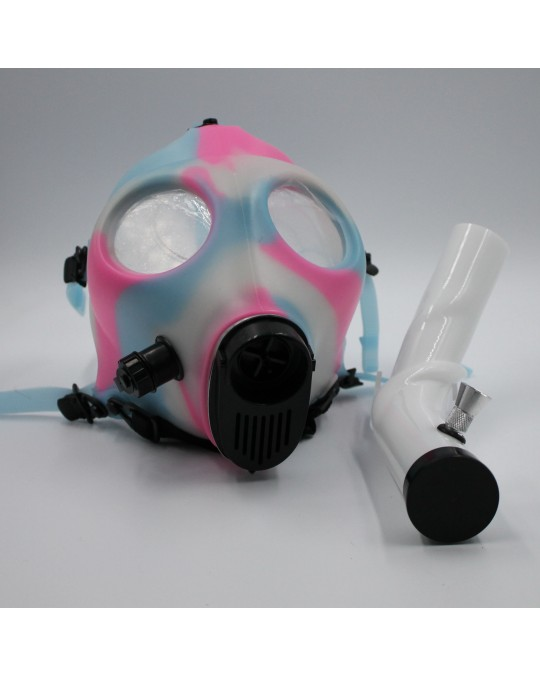 710 GLOW GAS MASK W/ ASST ATTACHMENT